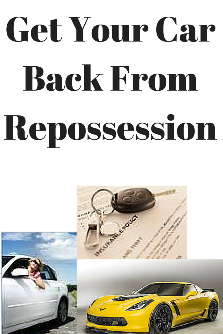 How Can I Get My Repossessed Car Back