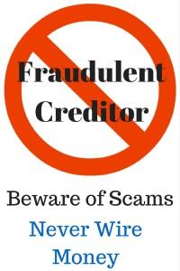 Fraudulent Creditor