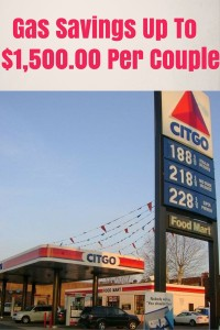 Gas Savings- $1,500.00 Per Couple
