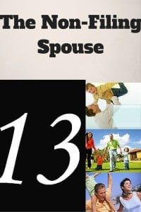 The Non-Filing Spouse